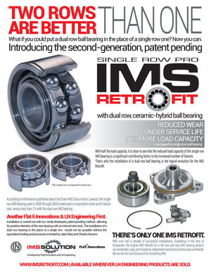 Porsche 996 ims bearing dealer replacement costs