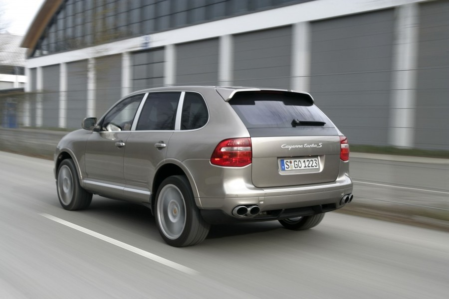 Even The Sporty Porsche Cayenne Turbo Is A Practical Choice